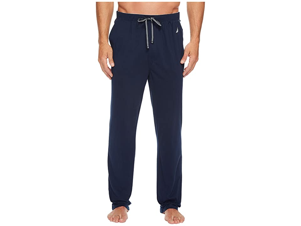 Nautica Knit Sleep Pants (Maritime Navy) Men