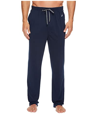 Nautica Knit Sleep Pants (Maritime Navy) Men