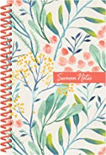 Sermon Notes Journal [Floral]