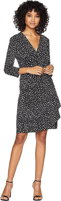 Adele Knit City Wrap Dress