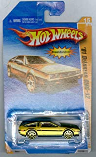 HOT WHEELS 2010 NEW MODELS 15 OF 44 GOLD '81 DELOREAN DMC-12
