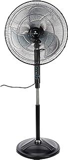 "Sona 20"" Remote Power Stand Fan SSOR 6075 Black"