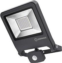 LEDVANCE Schijnwerper LED: voor muur, ENDURA FLOOD Sensor Warm wit / 50 W, 220…240 V, stralingshoek: 120, Warm wit, 3000 ...