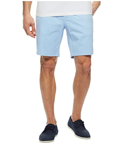 Nautica Classic Fit Stretch Deck Shorts (Noon Blue) Men
