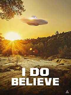 777 Tri-Seven Entertainment I Do Believe Poster UFO Alien Truth is Here Wall Art Print (18x24)
