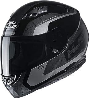HJC Helmets Herren Nc Motorrad Helm, Schwarz/Grau, XL
