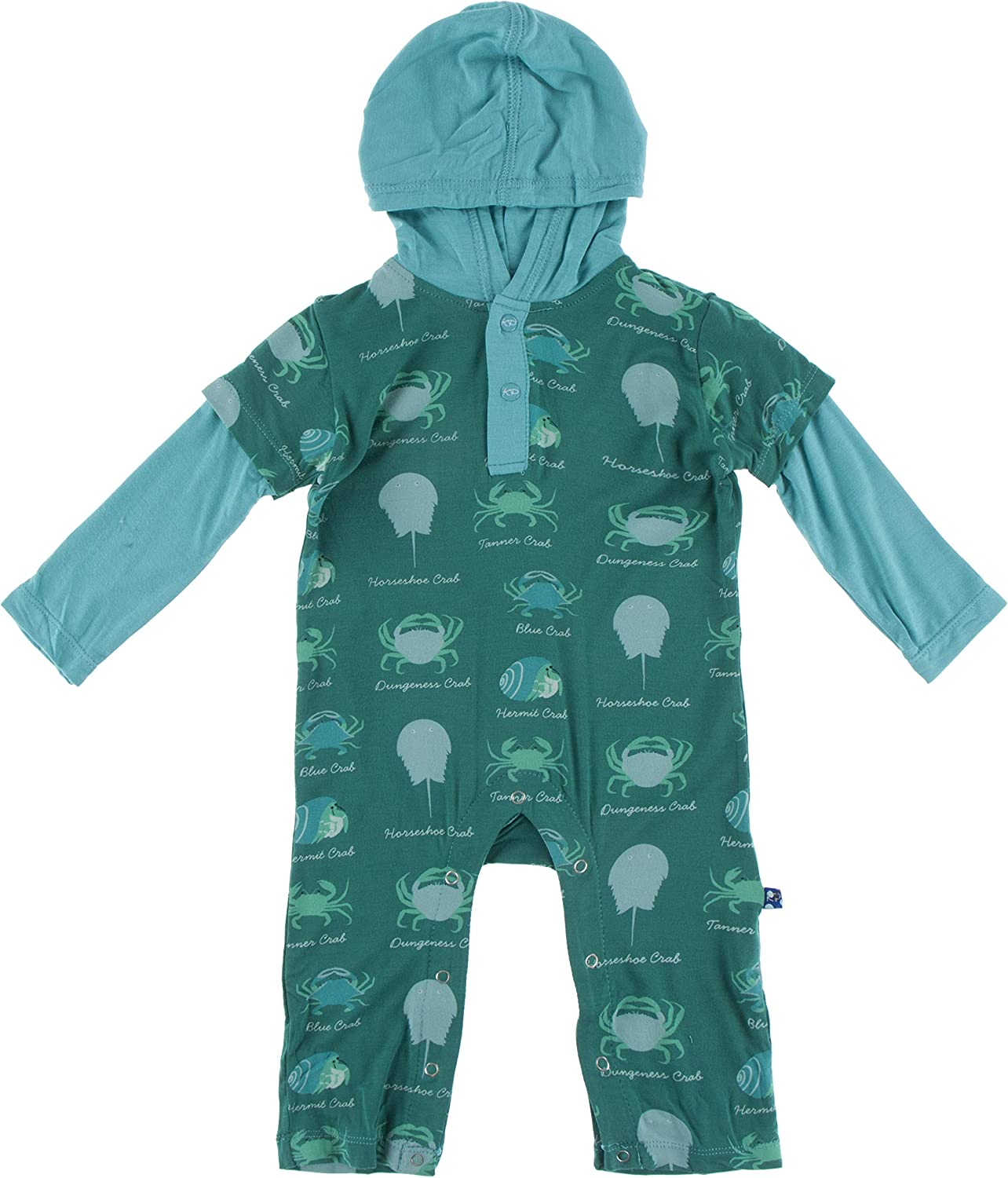 All items in the store KicKee Pants Long Sleeve Hoodie Clothes Soft Baby Seasonal Wrap Introduction Rompers Super