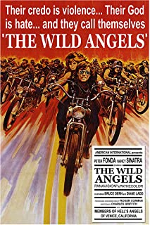 American Gift Services - Vintage Movie Poster Peter Fonda Nancy Sinatra The Wild Angels - 18x24
