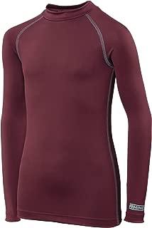 Childrens Big Boys Long Sleeve Thermal Underwear Base Layer Vest Top