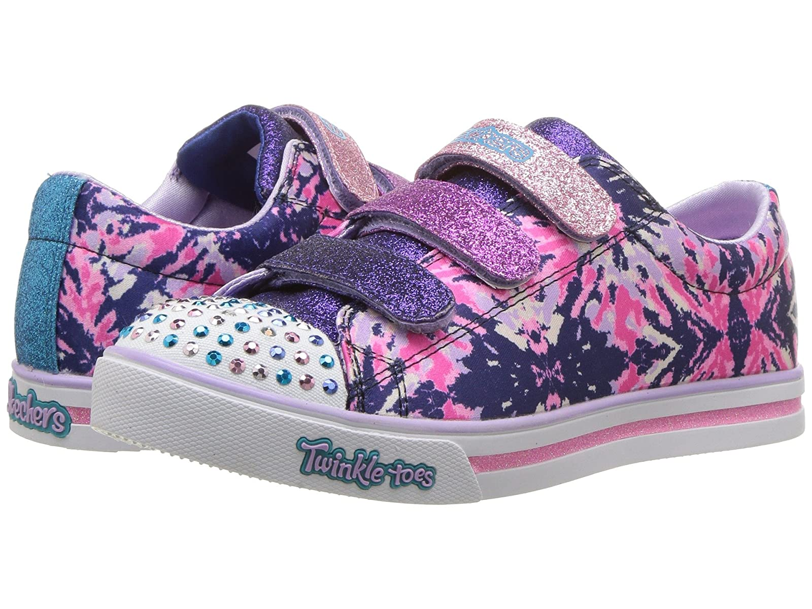 SKECHERS KIDS Twinkle Toes - Sparkle Glitz 10839L Lights (Little Kid/Big Kid)Atmospheric grades have affordable shoes