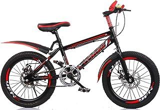 YFNIAO Disc Brake Youth Mountain Bike 18 Inch, Black