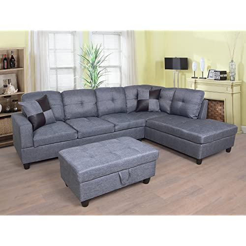 Fantastic Left Facing Sectional Sofa Amazon Com Inzonedesignstudio Interior Chair Design Inzonedesignstudiocom