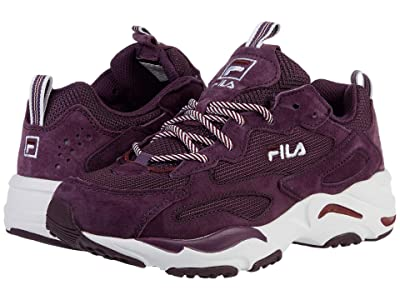 Fila Ray Tracer (Fig/Rosewood/White) Women