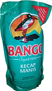 Sweet Soy Sauce - Bango Kecap Manis - 2 x 600 ml refill packages - Product of Indonesia