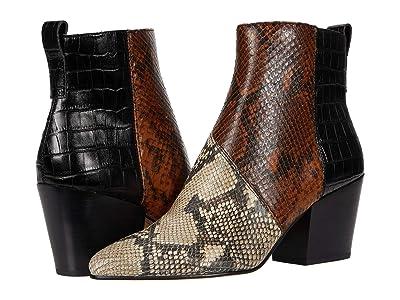 Dolce Vita Crew (Black/White Multi Snake Print Leather) Women