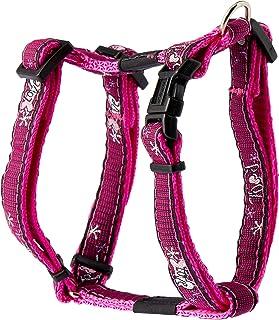 Rogz Jellybean H-Harness Pink Love Sml