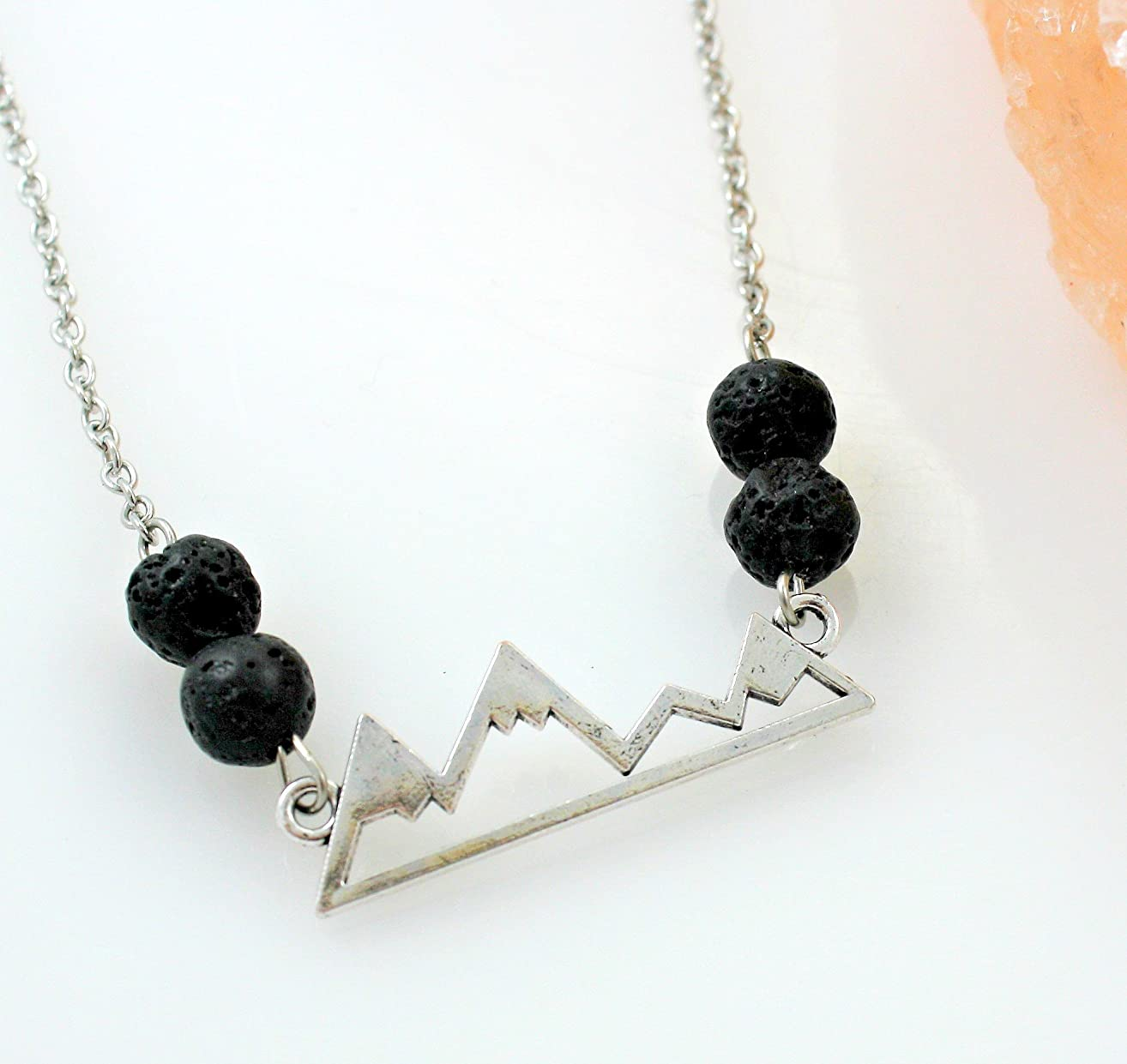 Mountain Essential Oil Diffuser Necklace
