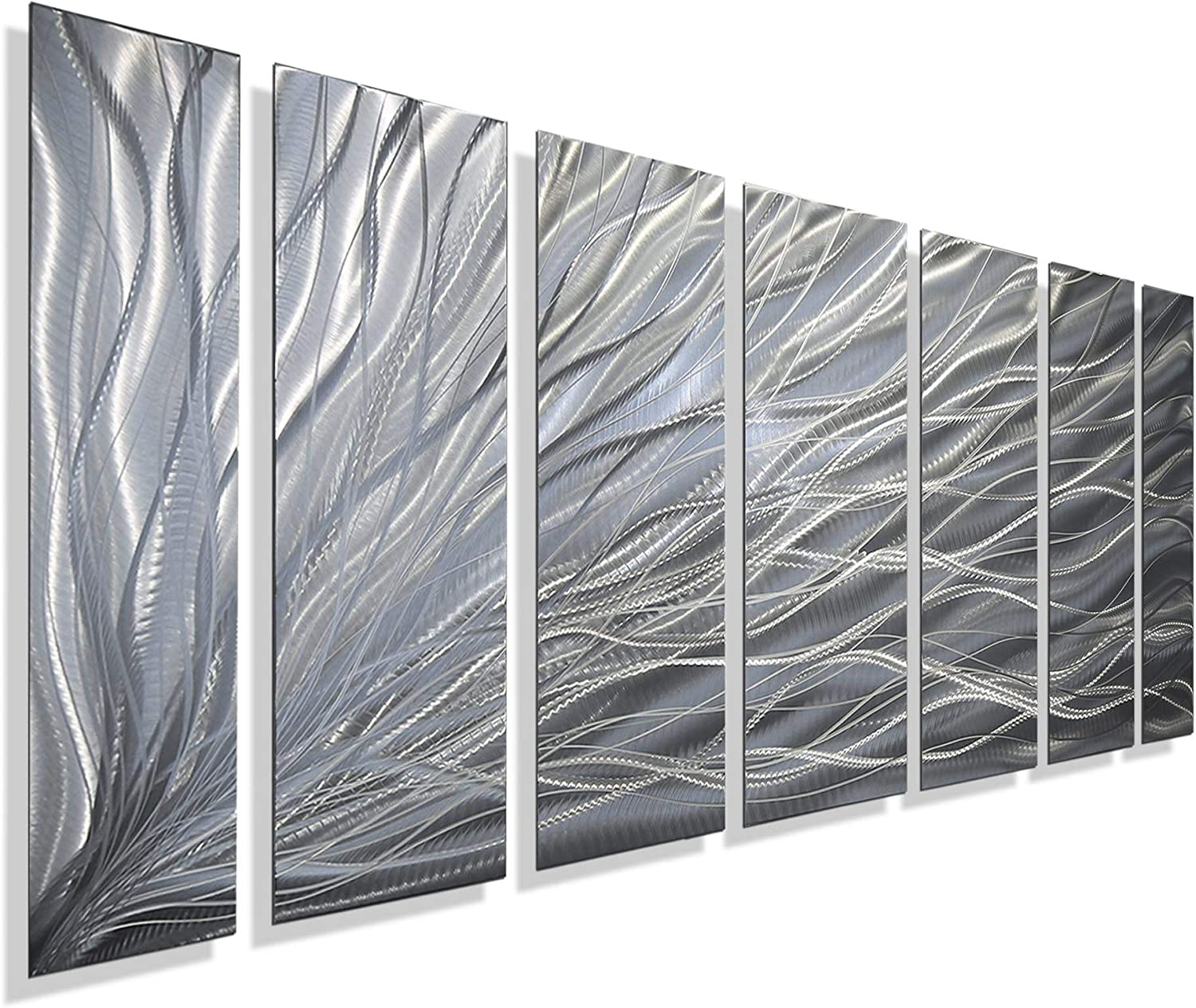 Statements2000 Abstract Mail order Fantasy Large 3D Metal NEW before selling Pane Hanging Wall