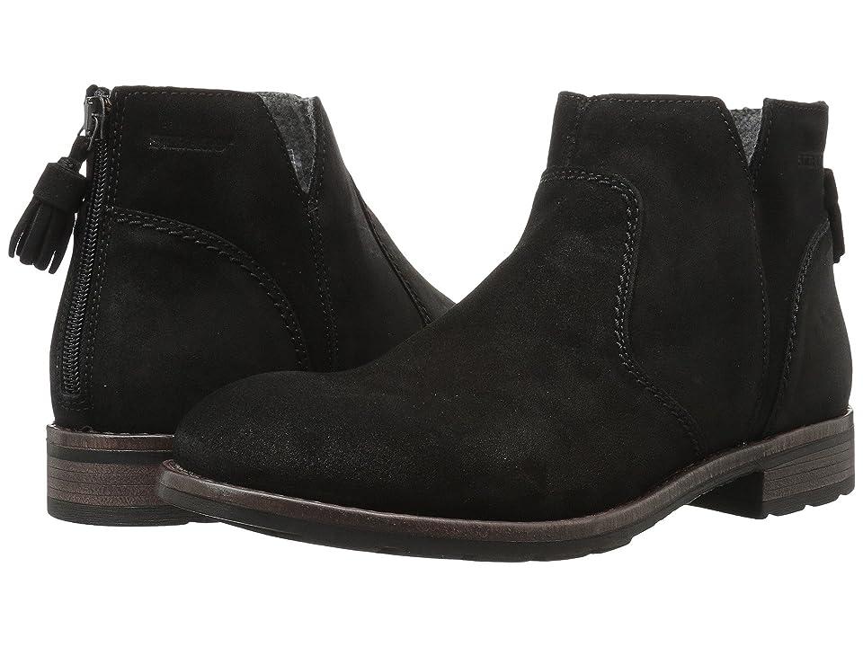 Sebago Laney Ankle Boot (Black Waxy Suede) Women