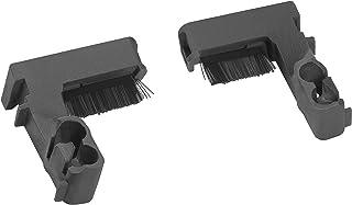 Cepillos para ruedas GARDENA: limpieza duradera de las ruedas de su robot cortacésped, compatibles con SILENO city, smart SILENO city, aumentan la adherencia, montaje sencillo, 1 par (4030-20)