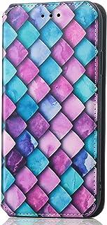 NEINEI Hoesje voor Motorola Moto G60S Case,Flip Leer Hoes Case met [Magnetisch][Kaartsleuf][FRID-Bescherming],Kleur Schild...