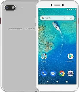 General Mobile GM 9 GO Dual Akıllı Telefon, 16GB, Silver (General Mobile Türkiye Garantili)