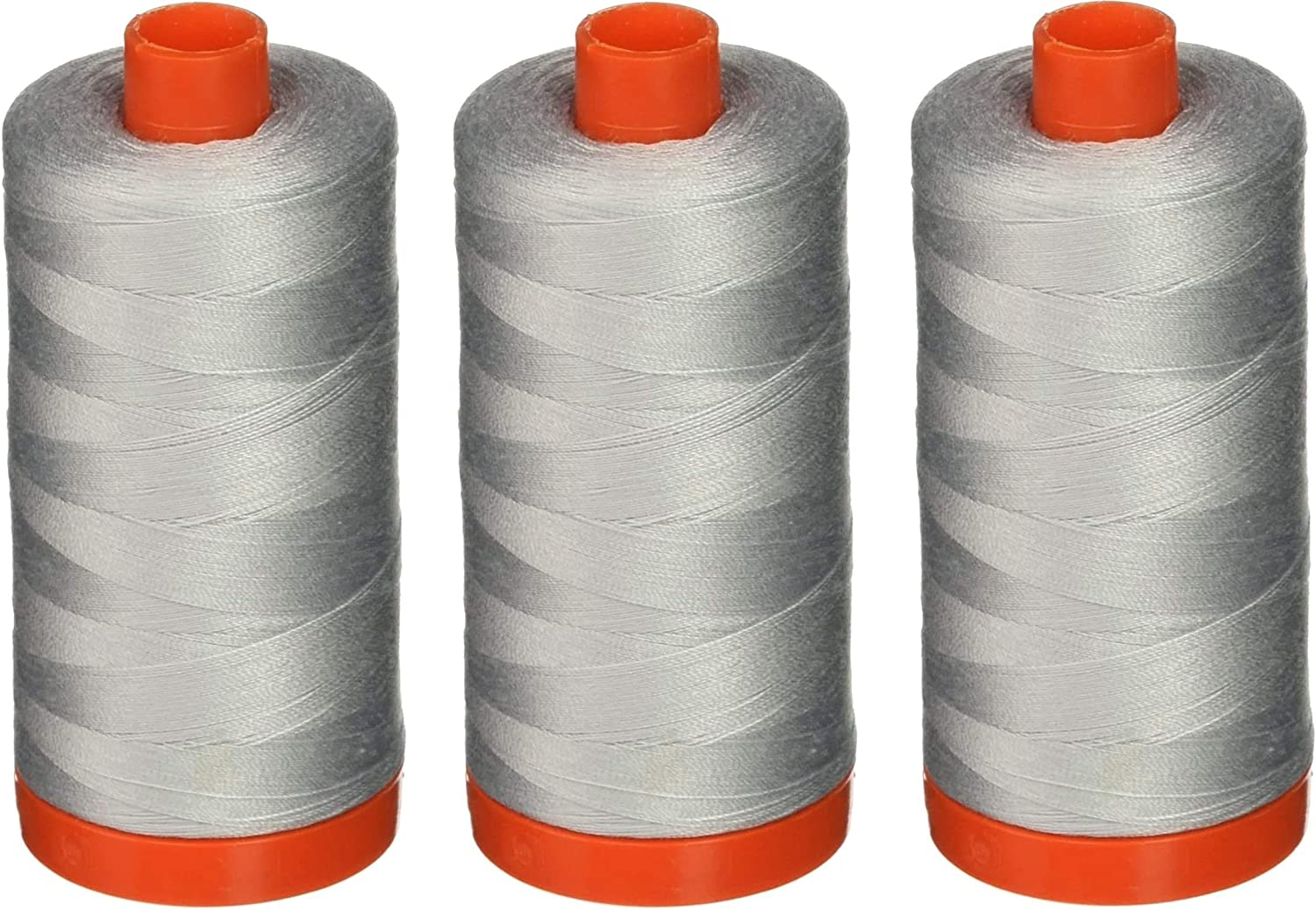 Aurifil Popular brand in the world A1050-2600 Mako Cotton Thread 50WT Solid Dove Ranking TOP19 1422Yds 1