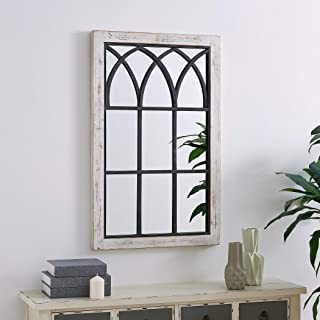 FirsTime & Co. Vista Arched Window Accent Wall Mirror, 37.5