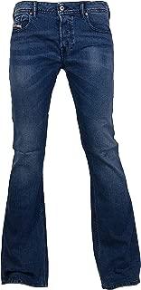 Mens Boot-Cut Stretch Jeans Zathan R88U4 Blue