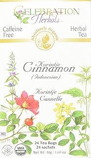 CELEBRATION HERBALS Cinnamon Korintje Tea Organic 24 Bag, 0.02 Pound