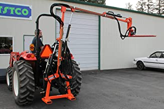 Farmer-Helper Hydraulic Boom with 5′ Sickle Brush Mower, FH-BRM150