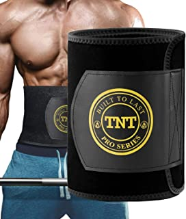 TNT Pro Series Waist Trimmer for Women and Men – Waist Trainer for Weight Loss..