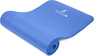 Prosource Premium 1/2-Inch Extra Thick 71-Inch Long High Density Exercise Yoga Mat with Comfort Foam and Carrying Straps, ...