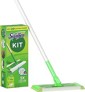 Swiffer Mopa Kit De Inicio Con 1 Mango Y 8 Paños Secos De