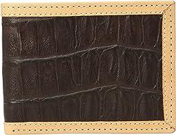 Ariat - Croc Print Bifold Wallet