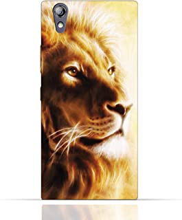 Lenovo P70 TPU Silicone Case with Lion Portrait Air Brush Pattern