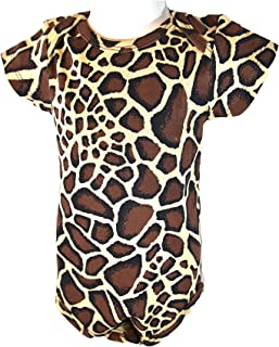 Newborn. Baby Jumper Suit. Giraffe Prints Design. 100% Cotton.Knit.