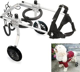 Anmas Sport Adjustable Dog Pet Wheelchair, Hind Legs Rehabilitation