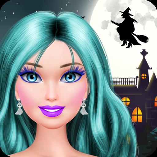Halloween Makeover: Makeup and Dress Up Spiele für Mädchen und Kinder