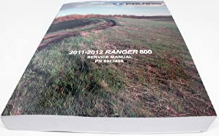 Polaris 2011-2012 Ranger 800 Xp Hd Crew 6X6 Service Shop Manual 9923499 New Oem