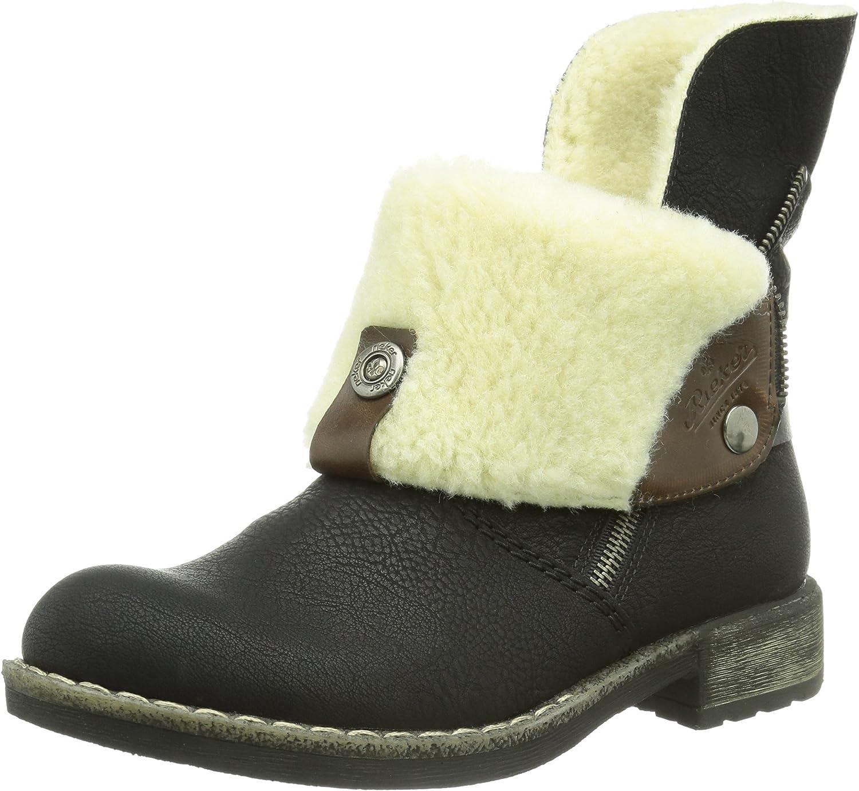 Rieker Women Ankle Boots black black kast 74689-00