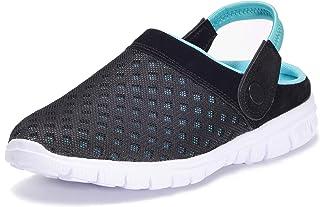 Sabot Femme Mules Homme Sandales Plage Léger Chaussures de Jardin Été Pantoufles 36-48