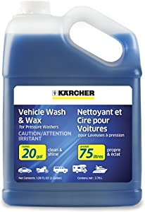 Karcher Car Wash & Wax Soap for Pressure Washers