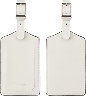 ivory luggage tags