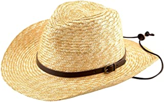 (田中帽子) ブルーノ 麦わら テンガロンハット(麦わら帽子 メンズ ストロー ウエスタン 中折れ ゴルフ 釣り アウトドア 紫外線 uv 対策 日焼け防止 日よけ 日本 ギフト 誕生日 男性 父の日プレゼント 人気商品) UKH024