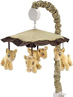 Disney Lion King Simba's Wild Adventure Musical Mobile, Ivory, Brown, Sage, Tan