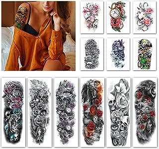 Best sugar skull half sleeve tattoos Reviews