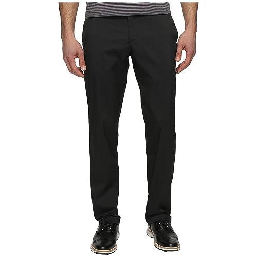 9d81455cbc666a NIKE Men's Flat Front Golf Pants, Black/Black, Size 34/32