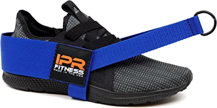 """IPR Fitness Glute Kickback LITE """"Patented"""" 100% Made in The USA I Foot Based Ankle Strap for Cable Machine Attachment"""