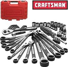 New Craftsman 56 Piece pc Universal Mechanics Tool Set Socket Wrench Garage Auto